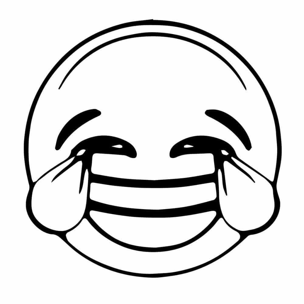 Dibujos De Emojis Para Colorear